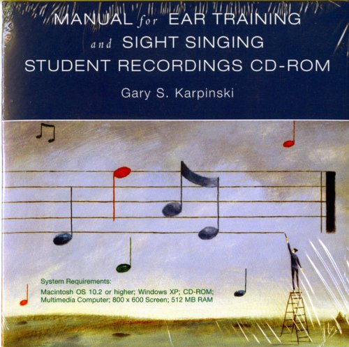 Manual for Ear Training and Sight Singing   2008 edition cover