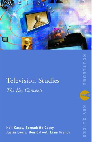 Television Studies The Key Concepts  2001 edition cover