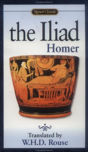 Iliad The Story of Achilles  2000 edition cover