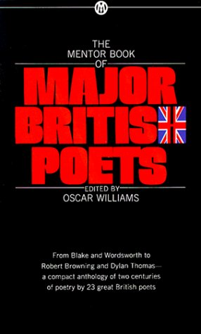 Mentor Book of Major British Poets  N/A 9780451626370 Front Cover