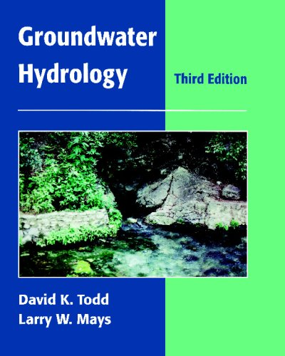 Groundwater Hydrology  3rd 2005 (Revised) edition cover