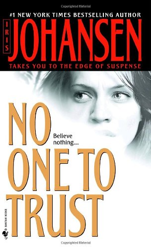 No One to Trust A Novel  2002 9780553584370 Front Cover