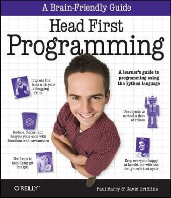 Head First Programming A Learner's Guide to Programming Using the Python Language  2009 edition cover