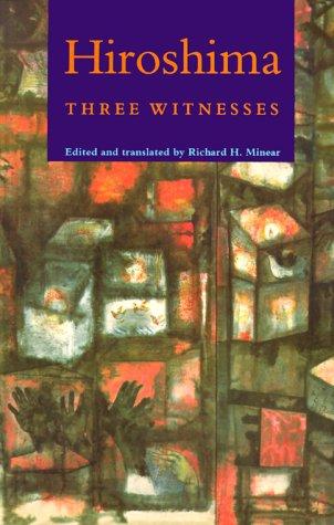 Hiroshima Three Witnesses  1990 edition cover