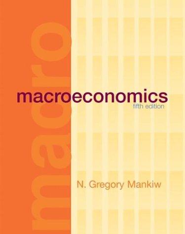 Macroeconomics  5th 2002 edition cover