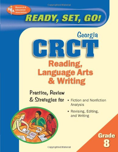 Georiga CRCT Reading, Language Arts and Writing N/A 9780738602370 Front Cover