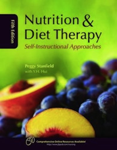 Nutrition and Diet Therapy Self-Instructional Approaches 5th 2010 (Revised) edition cover