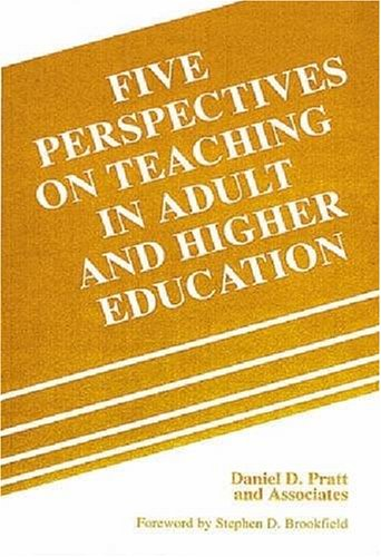 Five Perspectives on Teaching in Adult and Higher Education  N/A edition cover