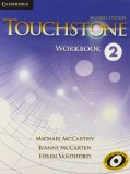 TOUCHSTONE LEVEL 2 WORKBOOK 2ND EDITION  2nd 2013 edition cover