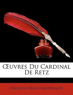 Uvres du Cardinal de Retz N/A edition cover