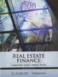 REAL ESTATE FINANCE            N/A edition cover