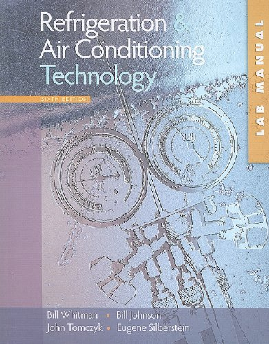 Refrigeration and Air Conditioning Technology  6th 2009 edition cover