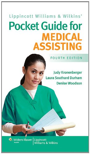 Lippincott Williams and Wilkins' Pocket Guide for Medical Assisting  4th 2011 (Revised) edition cover