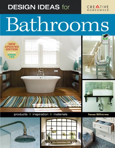 Design Ideas for Bathrooms Products, Inspiration, Materials 2nd 2009 edition cover