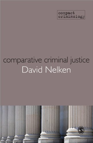 Comparing Criminal Justice   2010 edition cover