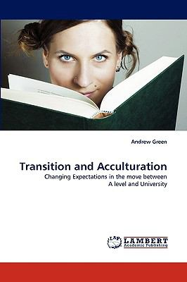 Transition and Acculturation N/A 9783838318370 Front Cover