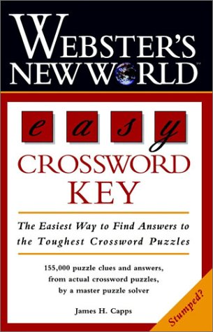 Easy Crossword Key   1997 9780028618371 Front Cover