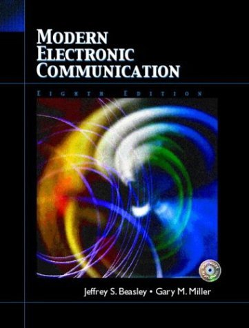Modern Electronic Communication  8th 2005 edition cover