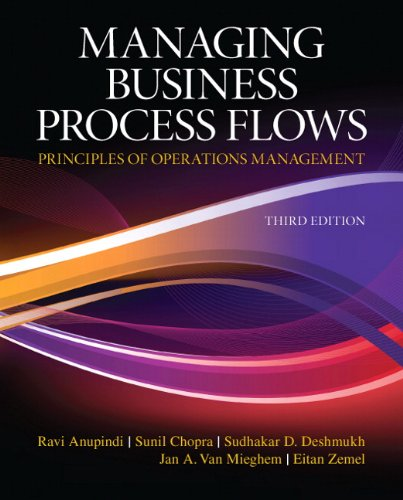 Managing Business Process Flows  3rd 2012 edition cover