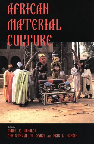 African Material Culture   1996 9780253210371 Front Cover