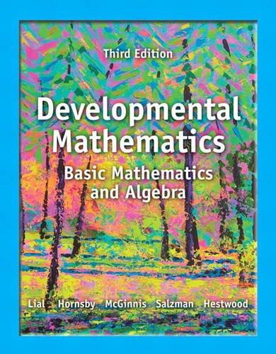 Developmental Math  3rd 2014 edition cover