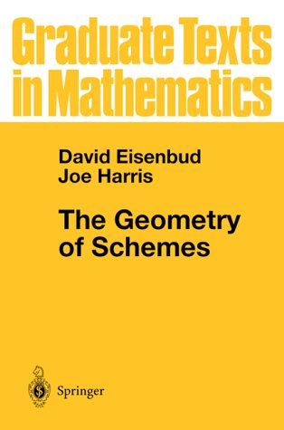 Geometry of Schemes   2000 edition cover