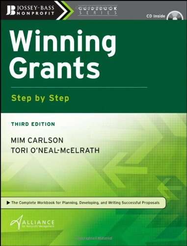 Winning Grants  3rd 2008 edition cover