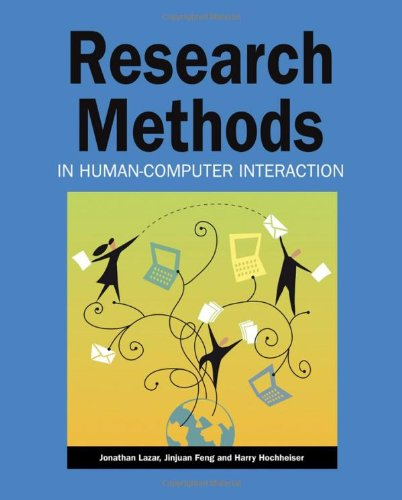 Research Methods in Human-Computer Interaction   2009 edition cover