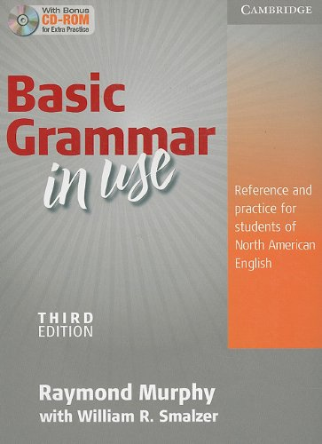 Basic Grammar in Use Student's Book Without Answers and CD-ROM Reference and Practice for Students of North American English 3rd 2010 edition cover