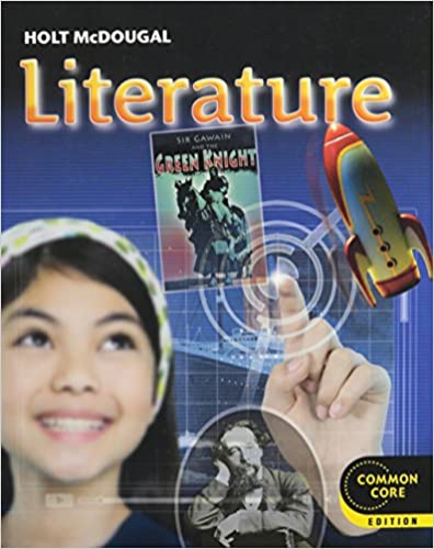 Holt Mcdougal Literature Student Edition Grade 7 2012 N/A 9780547618371 Front Cover