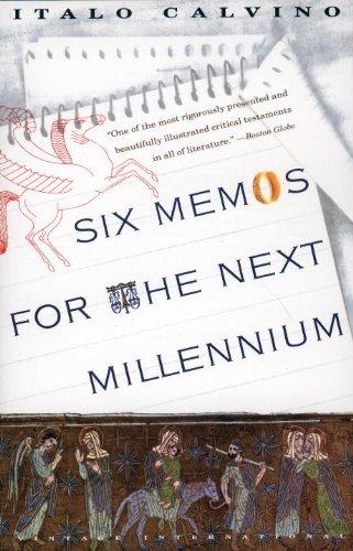 Six Memos for the Next Millennium   1993 edition cover