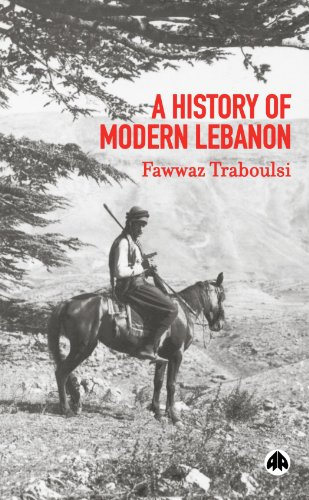 History of Modern Lebanon   2007 9780745324371 Front Cover