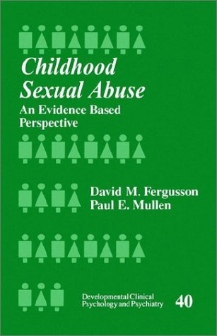 Childhood Sexual Abuse An Evidence-Based Perspective  1999 edition cover