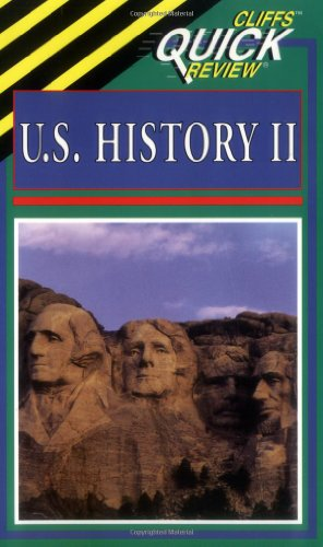 CliffsQuickReview U. S. History II   1999 edition cover