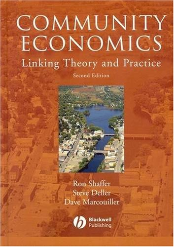 Community Economics Linking Theory and Practice 2nd 2004 9780813816371 Front Cover