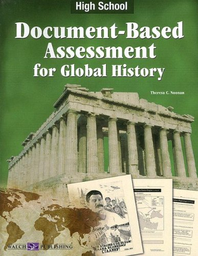 Document Bassed Assessment Global History High School 2nd (Teachers Edition, Instructors Manual, etc.) edition cover
