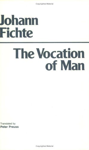 Vocation of Man  N/A edition cover