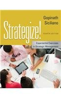 Strategize!: Experiential Exercises in Strategic Management  2013 edition cover