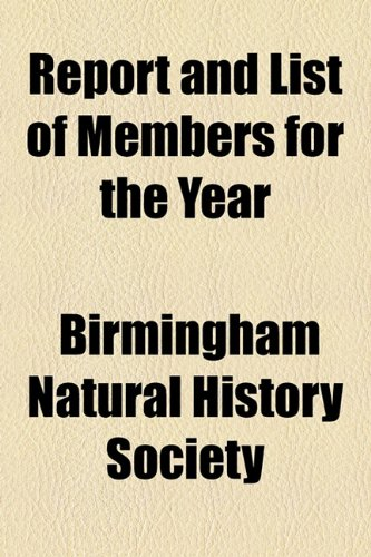 Report and List of Members for the Year  2010 edition cover