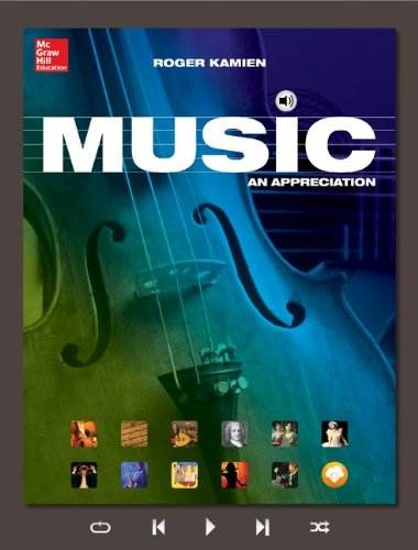 Music + Mp3 Download and Connect Access Card: An Appreciation  2015 9781259709371 Front Cover