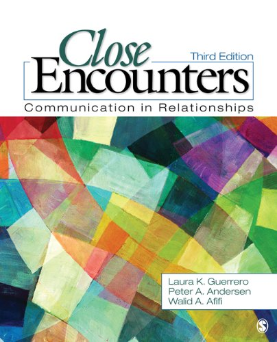 Close Encounters Communication in Relationships 3rd 2011 edition cover