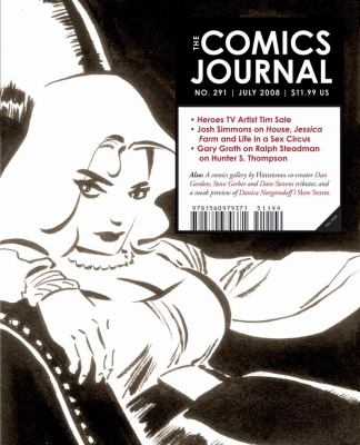 Comics Journal   2008 9781560979371 Front Cover