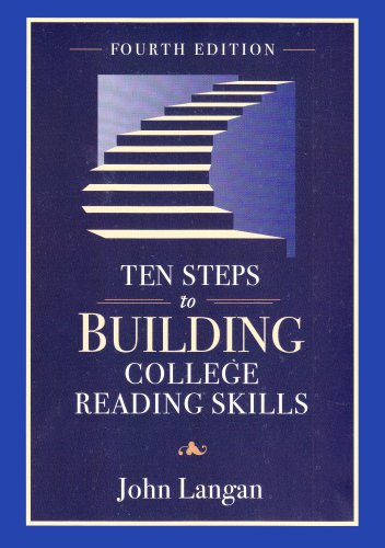 Ten Steps to Building College Reading Skills 4th 2005 edition cover