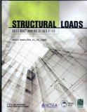 Structural Loads: 2012 IBC Andasce/SEI 7-10  2013 edition cover