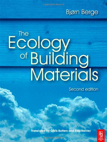 Ecology of Building Materials  2nd 2009 (Revised) edition cover