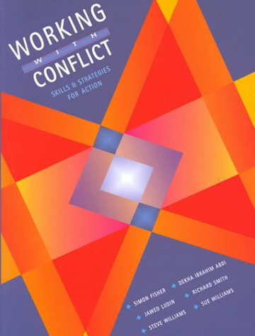 Working with Conflict Skills and Strategies for Action  2000 edition cover
