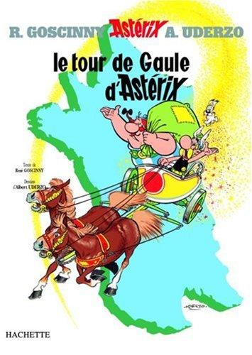 Le Tour de Gaule D'Asterix: 1st 1997 edition cover