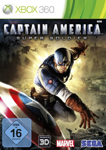 SEGA Captain America Super Soldier (Xbox 360) [German Version] Xbox 360 artwork