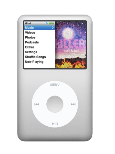 Apple iPod Classic - 160GB - Silver (7th Generation) product image