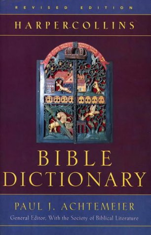 HarperCollins Bible Dictionary   1997 (Revised) edition cover